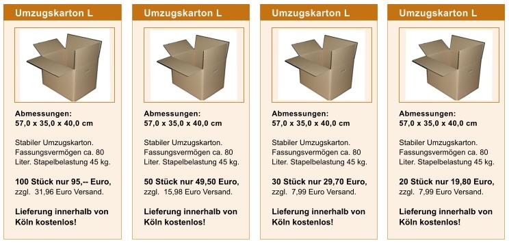 Kartonagen Köln